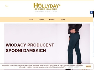 Hollyday.pl producent spodni