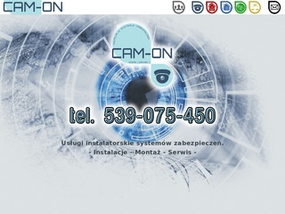 Cam-On monitoring alarmy