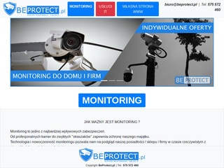 BeProtect.pl - systemy monitoringu