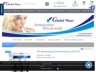 Filtry do wody - Global Water