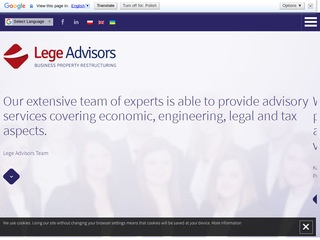 Lege Advisors sp. z o.o.
