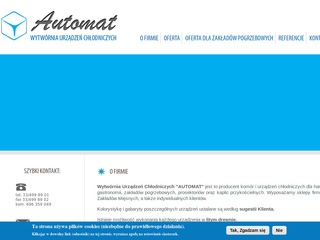 Chlodnictwo-automat.pl producent