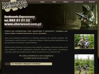 Paintball Sherwood k./Krakowa