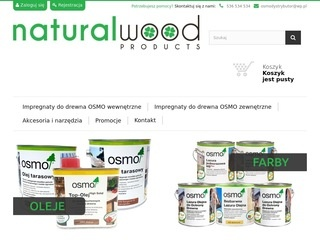 Natural-wood.pl farby do drewna osmo